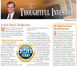 Print version of the Thoughtful Investor